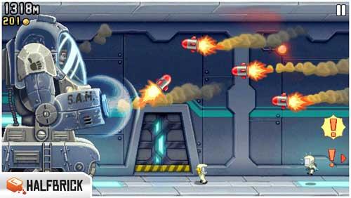 لعبة Jetpack Joyride بمراحل جديدة أكثر تشويقا