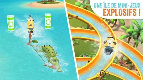 لعبة Minions Paradise المميز والمسلية للاندرويد