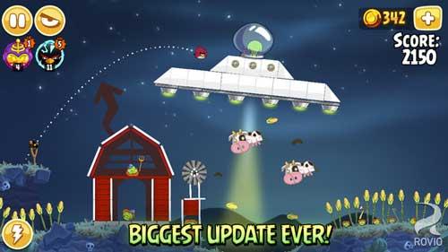 لعبة Angry Birds Seasons الرائعة متوفرة مجانا لوقت محدود