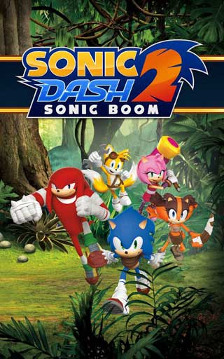 لعبة القنفذ السريع Sonic Dash 2: Sonic Boom للأندوريد