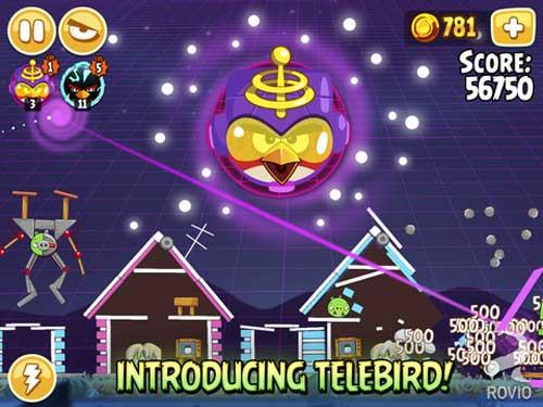 لعبة Angry Birds Seasons HD نسخة الايباد - مجانا لوقت محدود