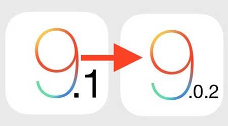 شرح الرجوع من الإصدار 9.1 إلى 9.0.1 على الأيفون والآيباد