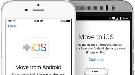 صورة هل نجحت خطة آبل لنقل مستخدمي الاندرويد اليها ؟ تطبيق Move to iOS يحصل على أكثر من مليون تحميل
