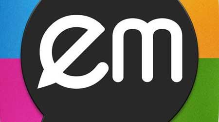 تطبيق EMwithME للدردشة مع مزايا كثيرة مفيدة