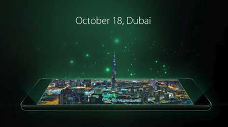 الكشف عن جهاز OPPO R7s في دبي في معرض GITEX