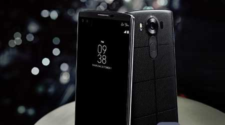 صورة الإعلان عن هاتف LG V10 بشاشة ثانوية و كاميراتين أماميتين و مواصفات أخرى مميزة !
