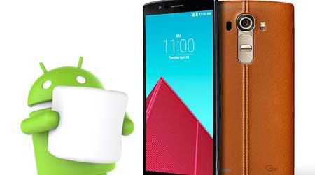 جهاز LG G4 سيحصل على إصدار مارشيملو الأسبوع المقبل