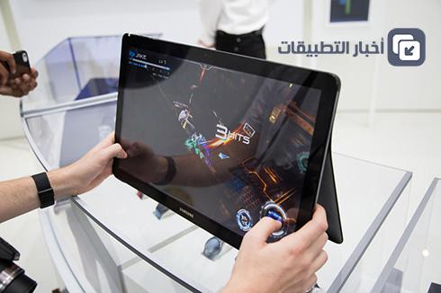 الإعلان رسمياً عن الجهاز اللوحي الأكبر في العالم Samsung Galaxy View !