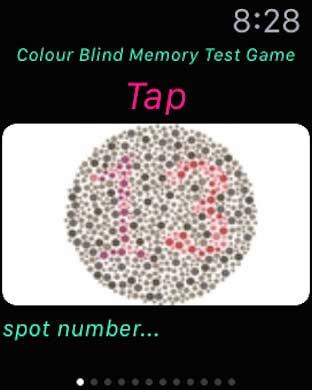 تطبيق Colourblind Memory لاختبار الذاكرة وقوة النظر