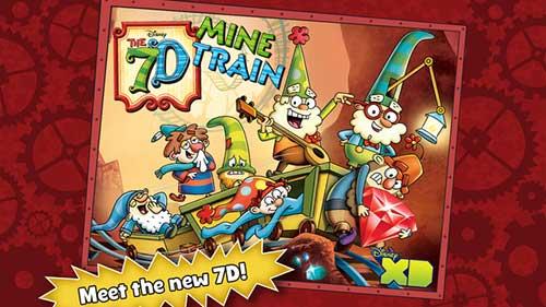 لعبة The 7D Mine Train المميزة ذات الرسوميات الرائعة