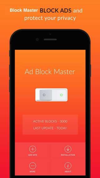 تطبيق Ad Block Master