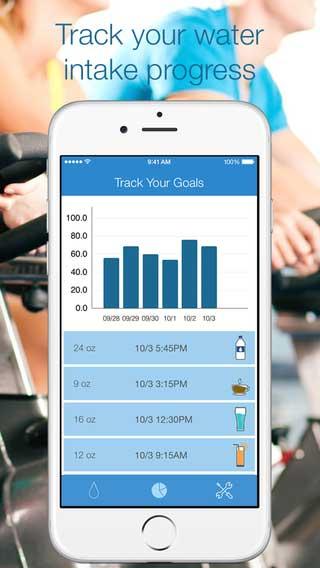 تطبيق Water Tracker دليلك لشرب الماء بكمية صحية - مجانا لوقت محدود تطبيق Water Tracker دليلك لشرب الماء بكمية صحية