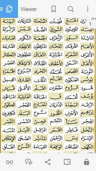 تطبيق Holy Quran pdf