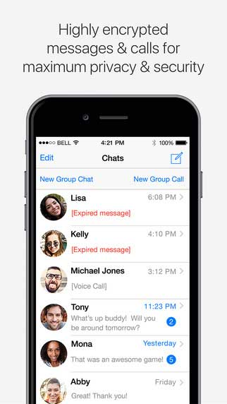 تطبيق SOMA Messenger