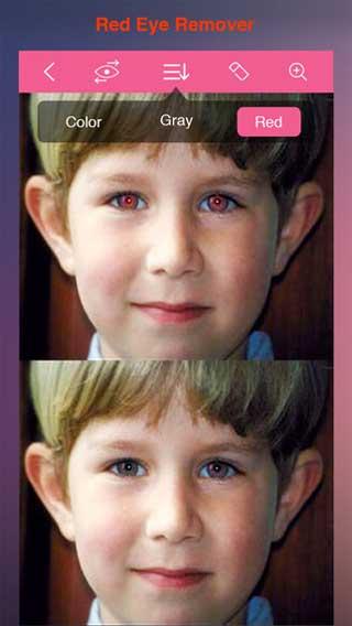 تطبيق Hot Eye Color لتحسين وتعديل عدسات العيون