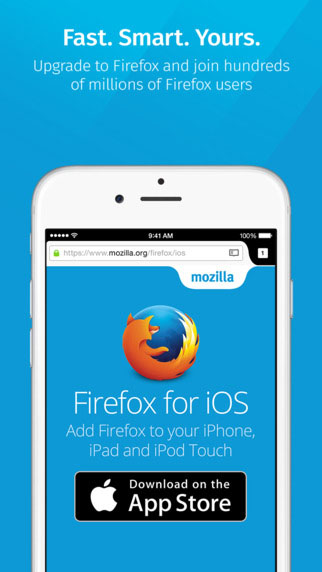 تطبيق Firefox وصل أخيرا للأيفون والآيباد