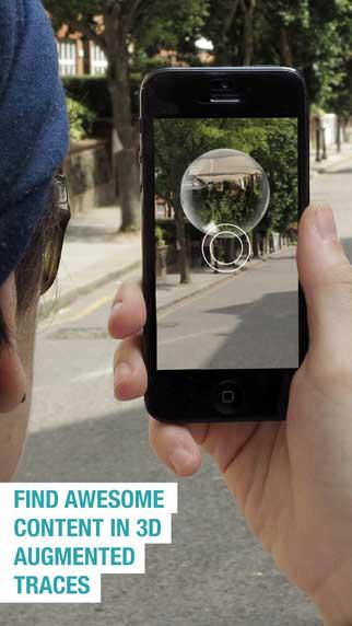 تطبيق Traces للتواصل بطريقة ذكية للأيفون
