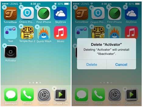 حذف التطبيق وإعادة تحميله مرة أخرى