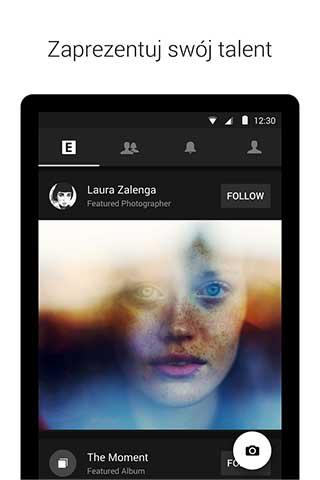تطبيق EyeEm لنشر صورك الابداعية مع إمكانية بيعها