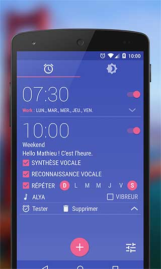 تطبيق WakeVoice منبه ذكي يعمل بالأوامر الصوتية