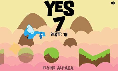 تطبيق Alpaca Jump البسيطة والمسلية للاندرويد