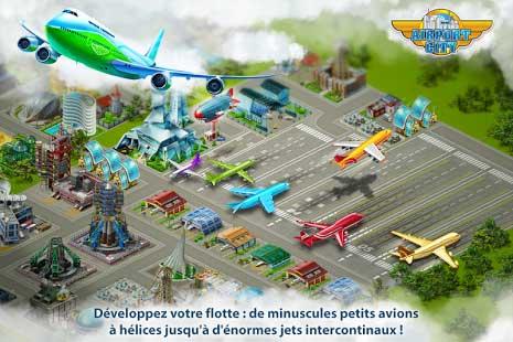 قم ببناء مطاراتك القوية مع لعبة Airport City للاندرويد