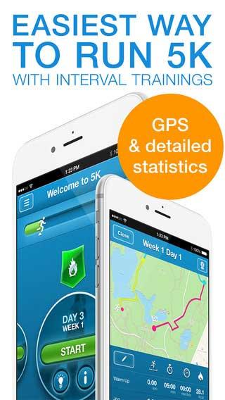 تطبيق Run 5K PRO الاحترافي للجري مع دعم ساعة آبل