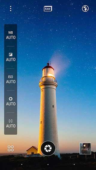 تطبيق HTC Camera للتصوير بمزايا احترافية كثيرة