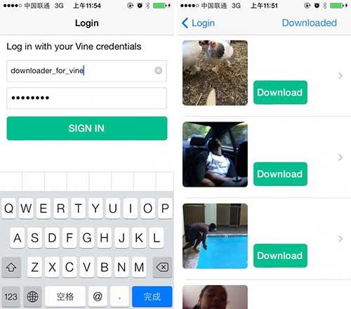 تطبيق Video Downloader for Vine لتحميل الفيديوهات