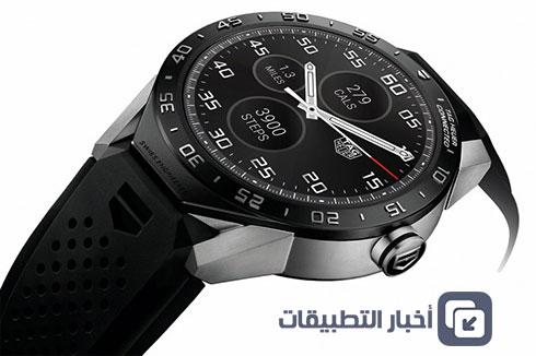ساعة Carrera Connected : أول ساعة ذكية فاخرة بنظام أندرويد وير بسعر 1500$ !