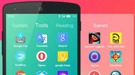 تطبيق Hola Launcher لانشر بمزايا احترافية للأندرويد