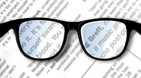صورة تطبيق Pocket Glasses لتحويل الأيفون إلى نظارات مكبرة