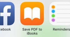 شرح طريقة تحويل الصور والملاحظات إلى PDF من خلال الأيفون والآيباد