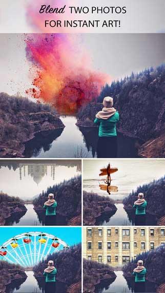 تطبيق Photo Merge.r لدمج الصور بطريقة احترافية ورائعة