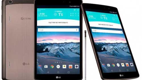 الإعلان رسميا عن لوحي LG G Pad 2 مع قلم ضوئي