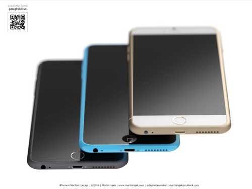 صورة تخيلية للأيفون 6c - المصدر: MIC Gadget