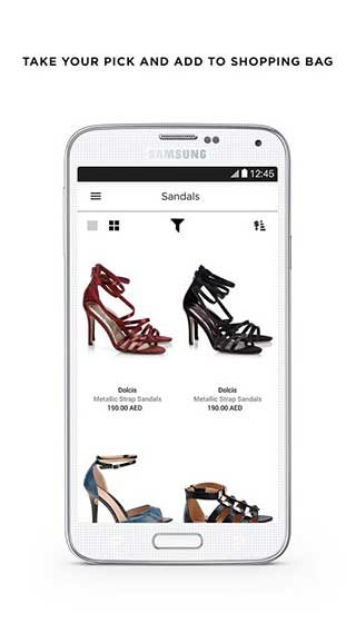 تطبيق Namshi للتسوق في دول الخليج وشراء الملابس رجال ونساء