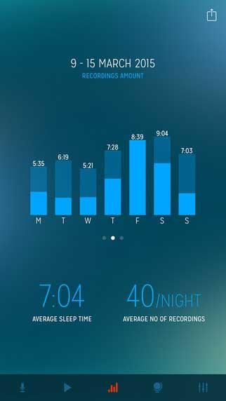 تطبيق Sleep Talk Recorder لتسجيل كلامك أثناء النوم