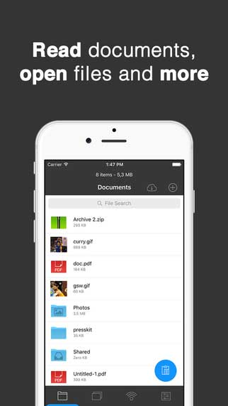 تطبيق My Folder 2 مدير ملفات بتصميم جميل