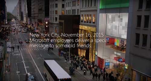 فيديو: مصالحة بين موظفي مايكروسوفت وآبل - هل ستفعل سامسونج؟