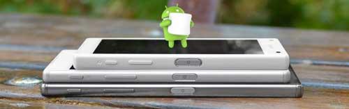 أجهزة Sony Xperia ستحصل على الأندرويد 6.0 خلال شهرين