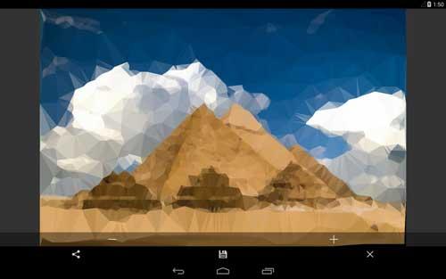 تطبيق Triangulate it لتحويل الصور إلى رسوميات زيتية