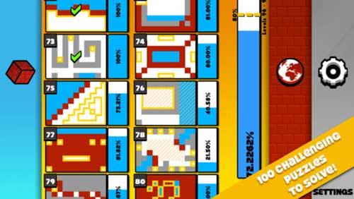 لعبة Briquid Mini: مستعد لدخول عالم الألغاز والتحديات؟
