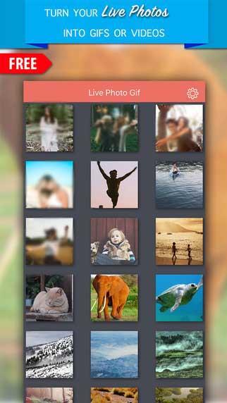 تطبيق Live Photo Gif لتحويل صورك إلى Gif أو فيديو - عرض محدود