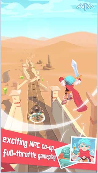 لعبة Astral: Origin ذات رسوميات جميلة ومغامرات شيقة