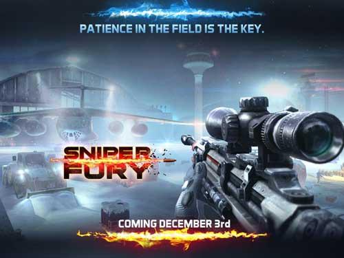 لعبة Sniper Fury ذات الرسوميات المذهلة والحرب القوية
