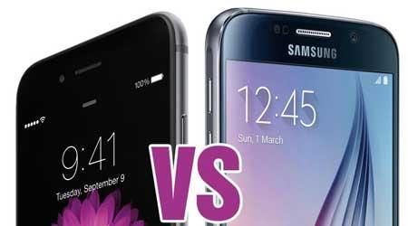 مقارنة: جهاز ايفون 6S بلس يتفوق على أجهزة أندرويد 2016، شاهدوا المقارنة وأخبرونا برأيكم ؟