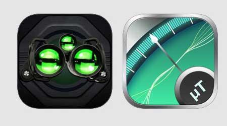ثلاثة تطبيقات للتحميل مرة واحدة - كاشف المعادن والتصوير الليلي وشيفرة مورس بتحميل واحد