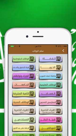 تطبيق سلم رواتب السعودية الشامل لعرض تفاصيل الرواتب بدقة