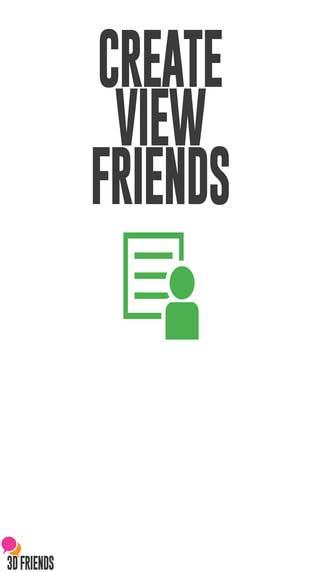 تطبيق 3D Friends